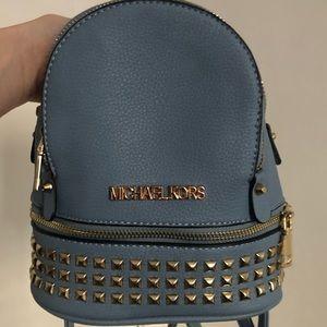 Michael Kors mini studded backpack